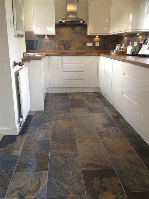 tile ideas for kitchens best 15 slate floor tile kitchen ideas topps tiles