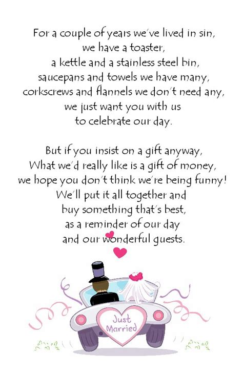 wedding day verses for cards 2 wedding poems