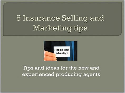 8 Tips To Avoid Ins by Insurance Selling And Recruiting Blogs