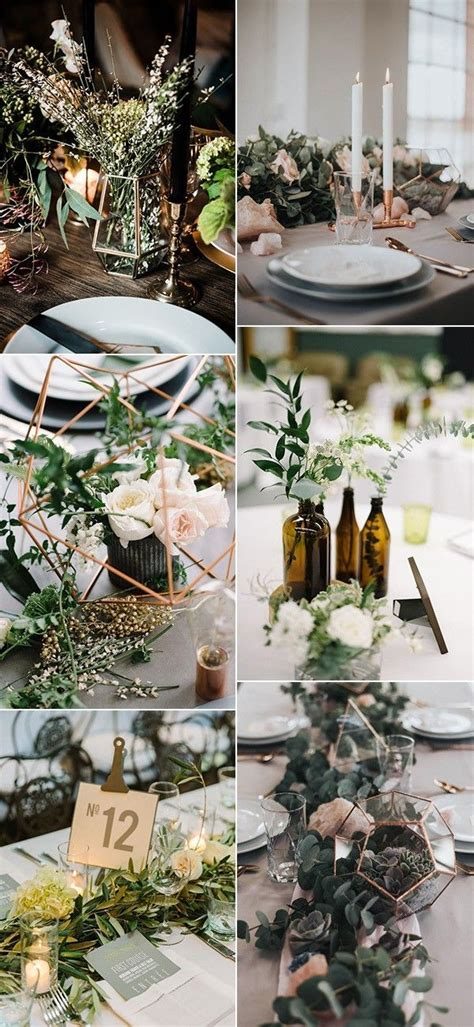 industrial wedding table decorations trending 12 industrial wedding centerpiece ideas for 2018