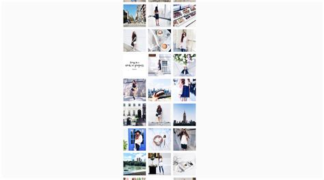 horizontal layout instagram social interfaces what is it about instagram s layout
