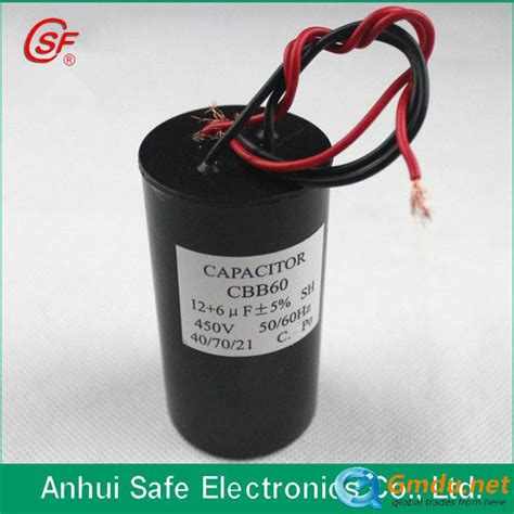 kapasitor cbb60 cbb60 50uf 250v capacitor by metalized for cleaning machine