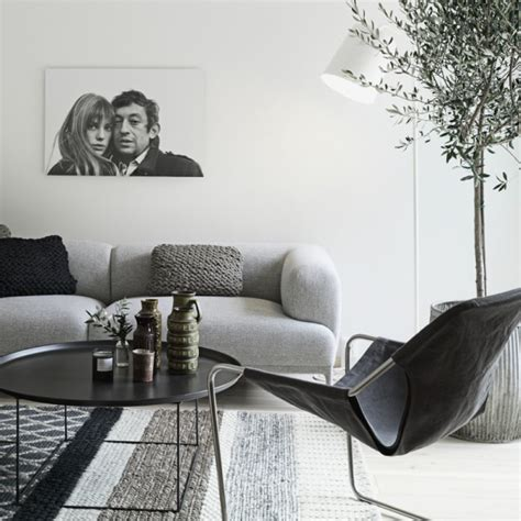 bianco appartamenti appartamento in bianco nero e grigio di