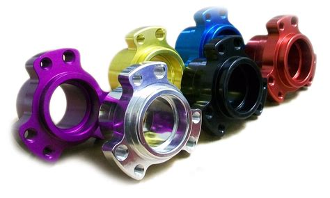 and the colored go colored aluminum racing wheel hub front 600235b bmi