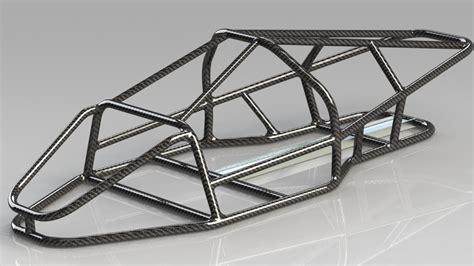 frame design in solidworks car frame solidworks stl step iges 3d cad model