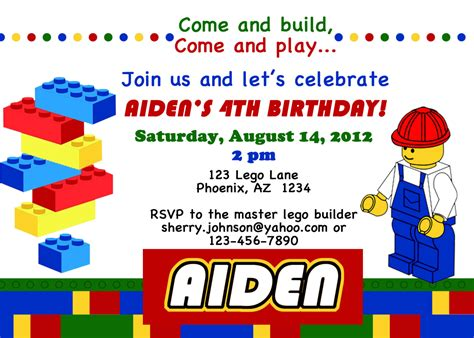 lego birthday card template lego themed birthday invitations dolanpedia