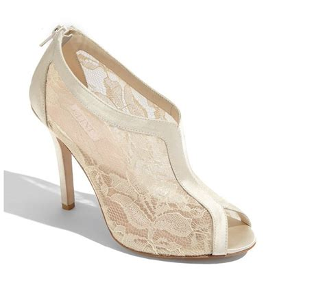 Wedding Shoes Ivory Lace by Ivory Lace Bridal Bootie Wedding Shoes Onewed