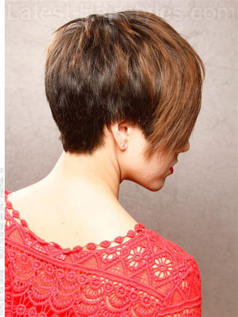 short hairstyles long front disconnectsides 35 fool proof hairstyles for straight hair