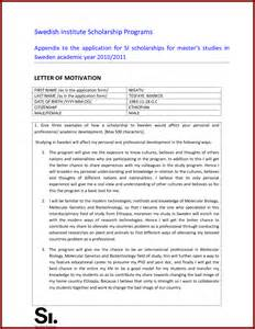 cover letter motivation letter sle motivation letter for phd scholarship application