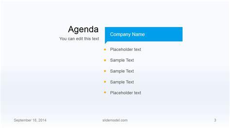 ppt agenda template 6 best agenda templates