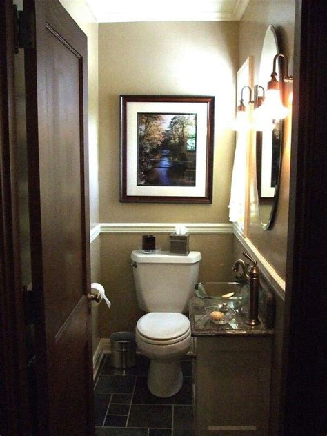 Half Bath Designs by 1 2 Bathroom Makeover For The Home Pinterest