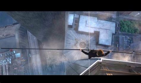 twin towers walk movie the walk trailer this rope walk between twin towers will