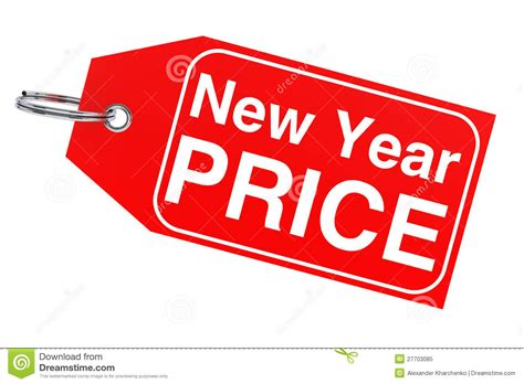 new year price new year price tag royalty free stock photo image 27703085