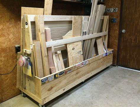 Mobile Lumber Storage Rack Plans by Rolling Wood Storage Rack Plans