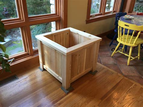 How Should I Finish This Indoor Cedar Planter I Ve Built