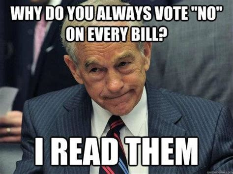 Ron Paul Memes - why you no vote yes politicalmemes com