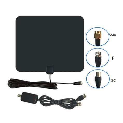 Tv Digital Semarang digital tv hdtv antenna cjh 158a black jakartanotebook