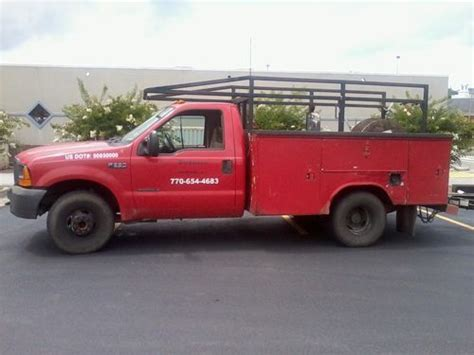 how petrol cars work 1999 ford f350 auto manual find used 1999 ford f350 utility bed work truck in cleveland georgia united states for us
