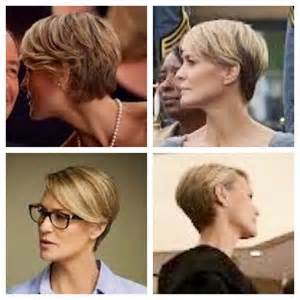 progression of robin wrights hair in house of cards robin wright in house of cards love the cut hair
