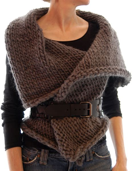 knit one knit 1 la magnum reversible vest wrap