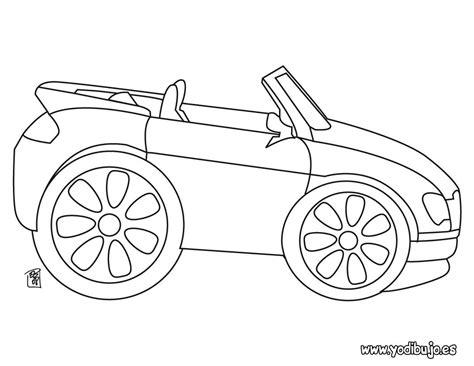 imagenes para dibujar un carro dibujos para colorear coche cabriol 233 es hellokids com