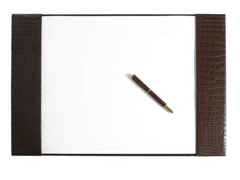desk blotter desk blotter di croco