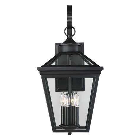 savoy house lighting savoy house lighting ellijay black outdoor wall light 5 142 bk destination lighting