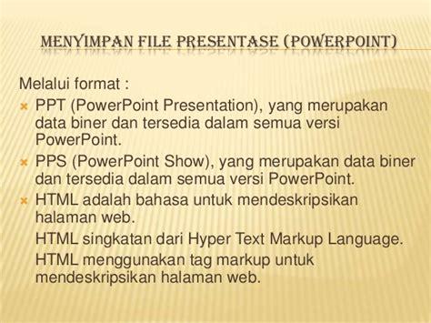 format file pps adalah kkpi powerpoint