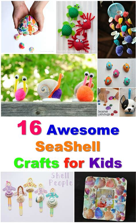 awesome crafts for 16 amazing seashell craft ideas for