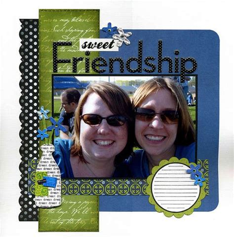 scrapbook layout for friends 1000 images about friendship scrapbooking on pinterest