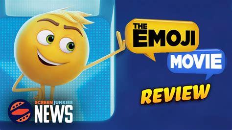 emoji movie rating emoji movie review youtube