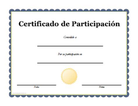 certificados a estudiantes para imprimir certificados de participaci 243 n para imprimir gratis