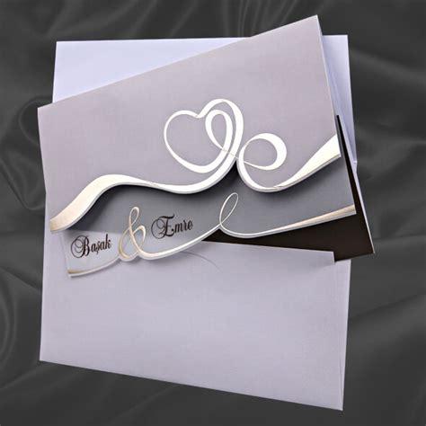 Hochzeitseinladung Zum Aufklappen by Hochzeitseinladung Quot Nara Quot Hochzeitskarte Mit Herz
