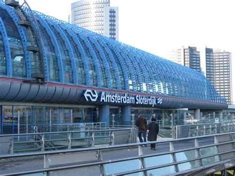 Panoramio Photo Of Amsterdam Sloterdijk Station Amsterdam