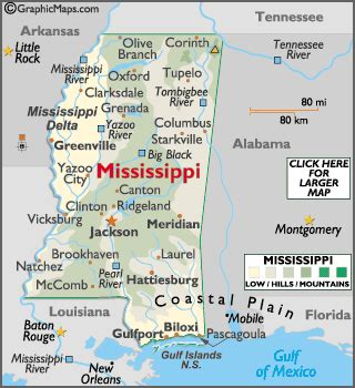 Mba Jackson Ms Directions by Mississippi Facts On Largest Cities Populations Symbols
