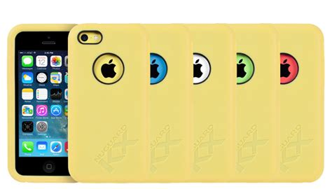 Iphone 5c Marble Blue Mix Yellow Cover Casing Hardcase nuguard kx protective for iphone 5c yellow