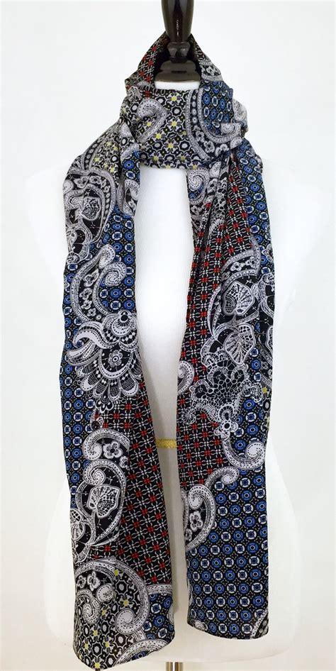 multi colored scarf shawl linazibdeh