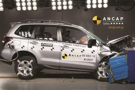 subaru forester crash test rating subaru forester 2013 onwards crash test results ancap