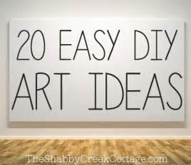 Make Your Own Artwork For Home Decor 20 Ways To Make Your Own Wall