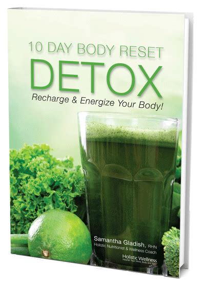 10 Day Detox Cleanse Book by 10 Day Detox Holistic Wellness