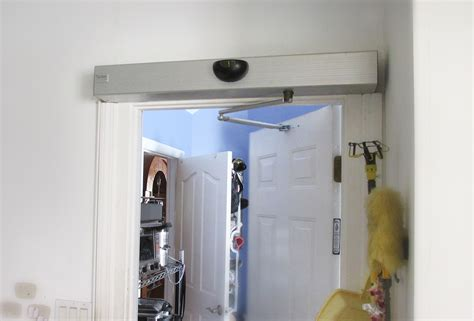 auto swing door tucker auto mation automatic swinging door 187 gadget flow