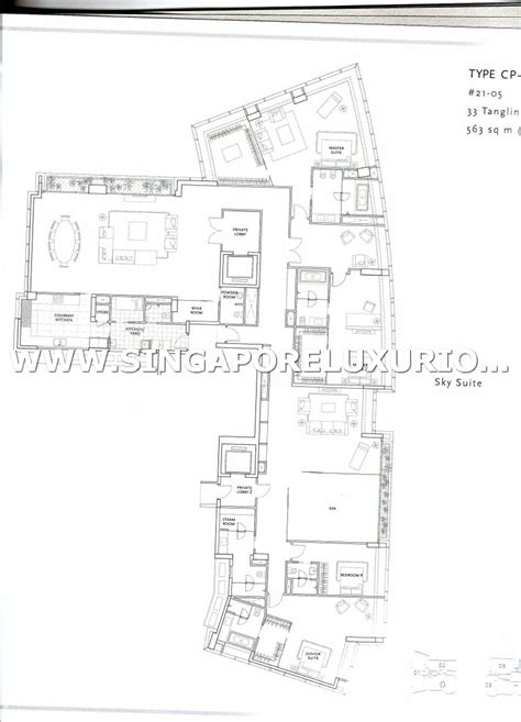 st regis residences site floor plan singapore