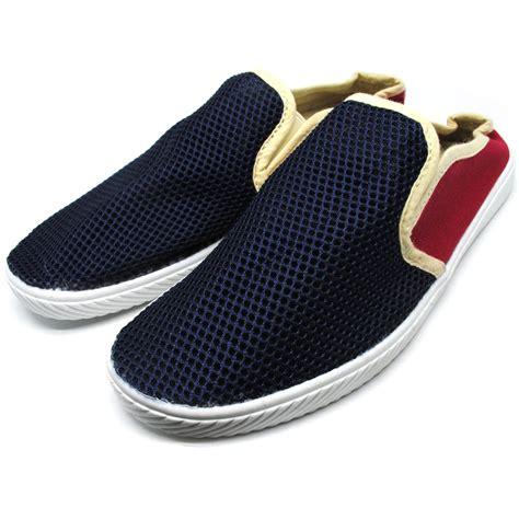 Sepatu Dc Slip On sendal sepatu slip on pria size 44 black