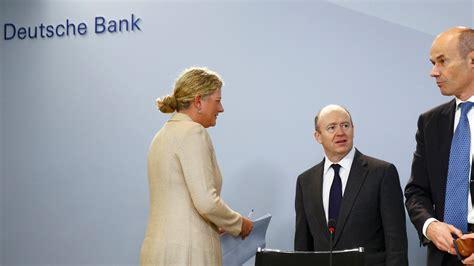 deutsche bank o deutsche bank c e o calls for more european bank mergers