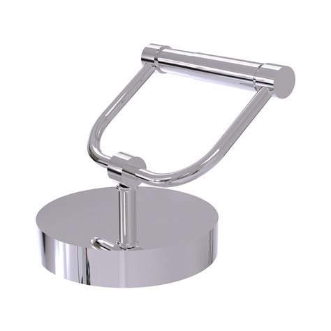 Countertop Toilet Paper Holder shop allied brass polished chrome freestanding countertop