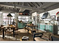Vintage and Industrial Style Kitchens by Marchi Cucine ... Industrial Style Home Decor