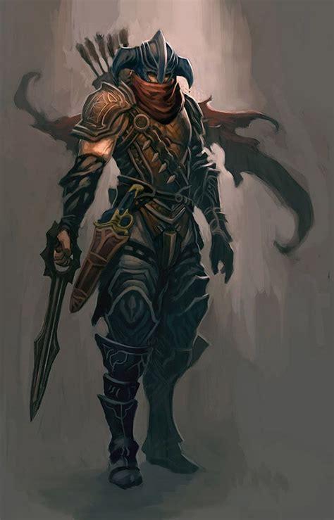 concept ranger ranger concept from diablo iii 鎧 装甲 鎧 と 美