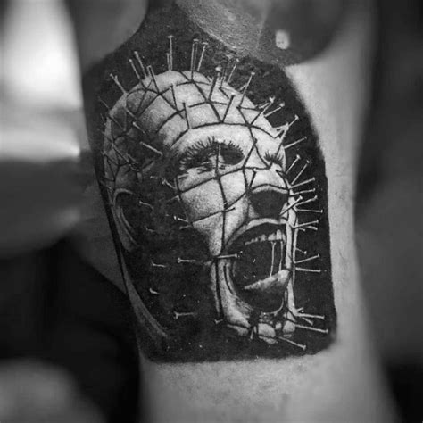 hellraiser tattoo designs 50 hellraiser designs for cenobite pinhead