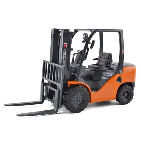 1 20 Scale Diecast Forklift Truck Construction Vehicle Cars Model Toys kdw 1 20 scale diecast forklift truck construction vehicle