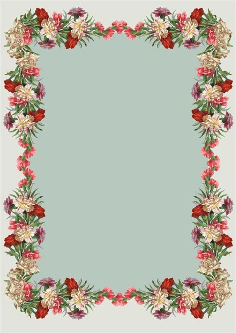 printable floral stationary free printable vintage flower stationery unique for